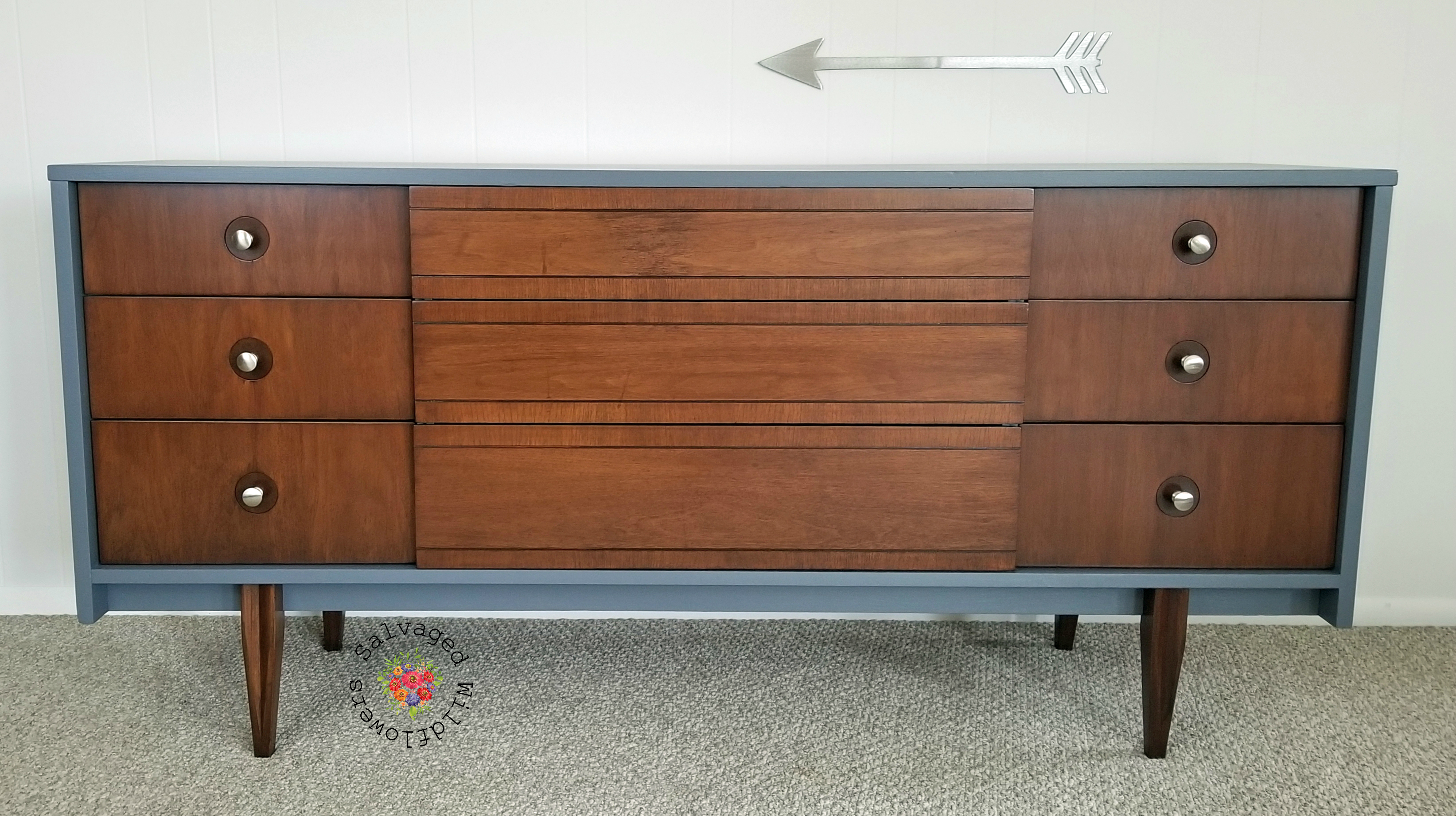 Salvaged_Wildflowers_MCM_9drawer_dresser2logo
